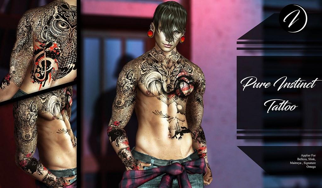 ..:: INKer ::.. Pure Instinct Tattoo - TeleportHub.com Live!