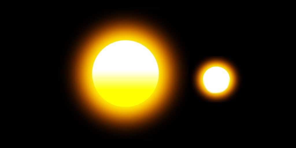 Une étoile massive se blottit près de son frère stellaire