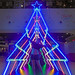 Neon Lights Christmas Tree