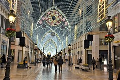 Christmas Lights Malaga (1), Nikon D3100. DSC_0198.