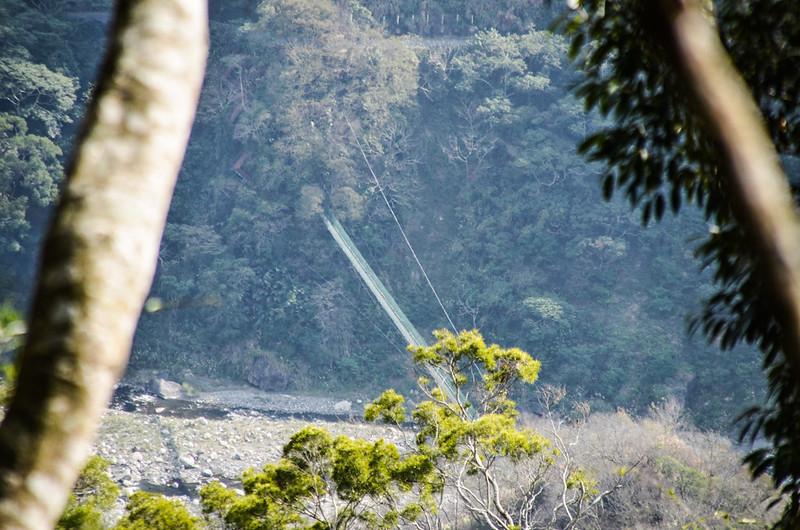 千兩山俯瞰象鼻吊橋