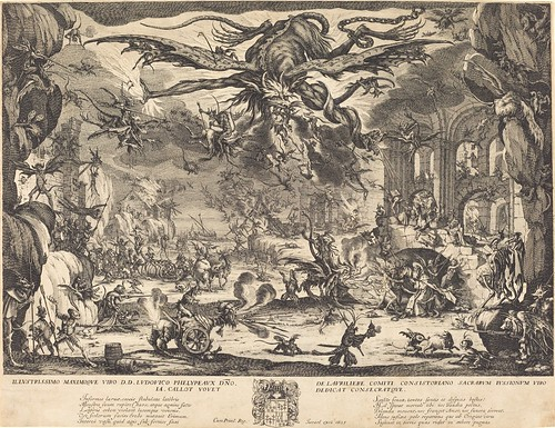 The Temptation of Saint Anthony, Jacques Callot
