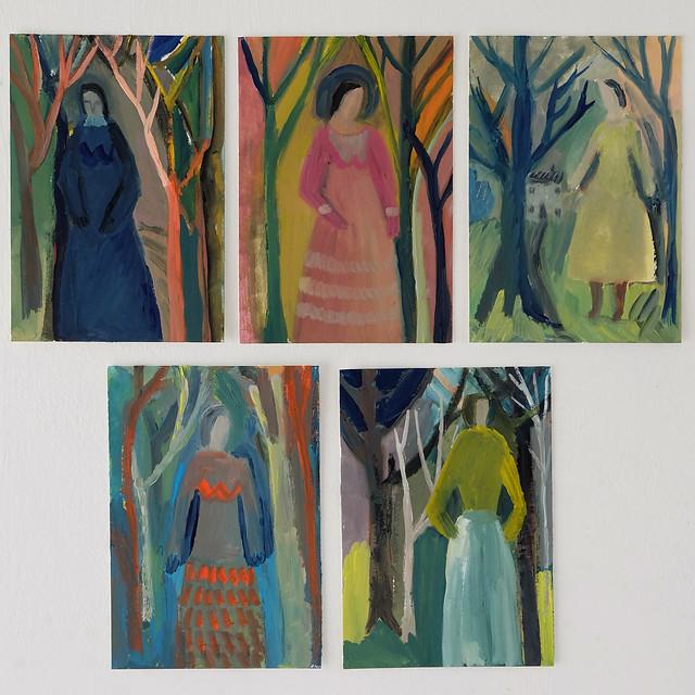 colour / figure studies