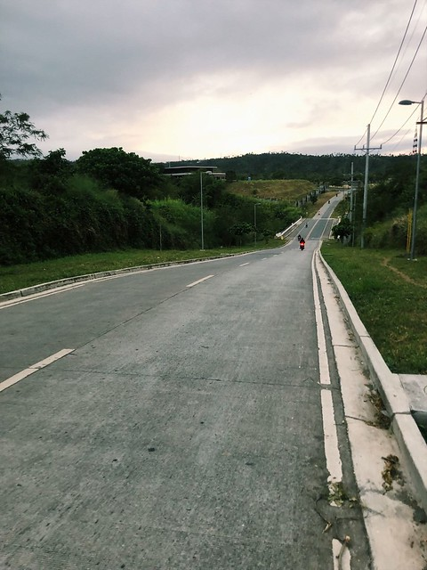 Running in Nuvali, Laguna