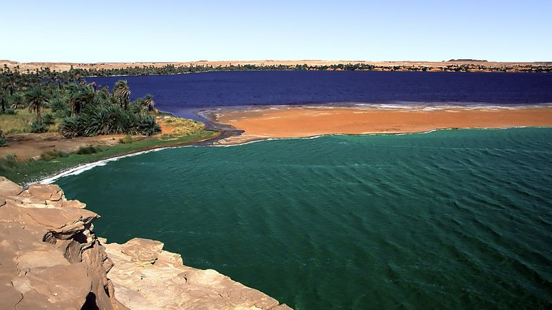 Lakes of Ounianga
