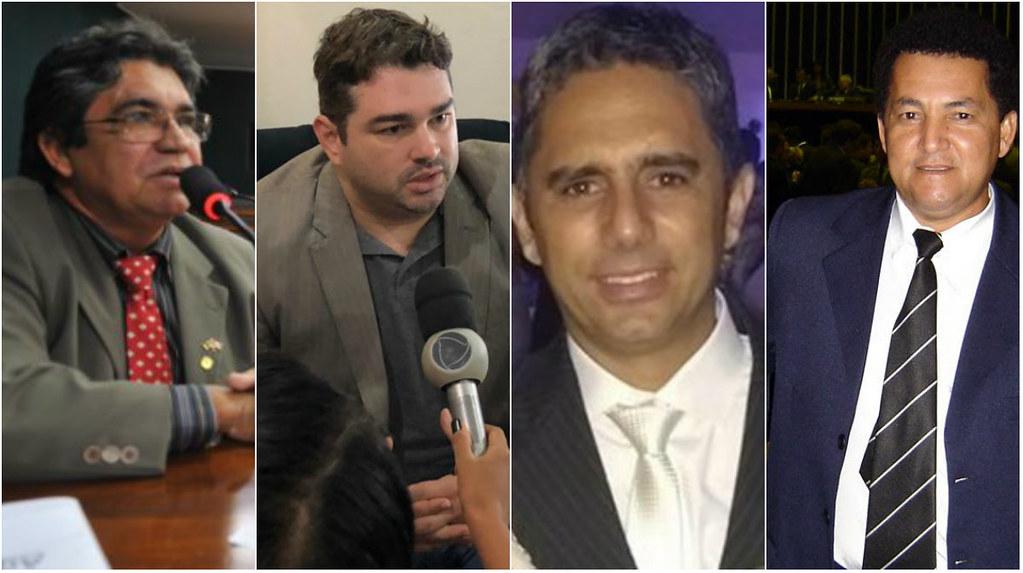 7 rapidinhas. Governador nomeia ex-deputado do PT, empresário foragido, Justiça condena ex-prefeito..., Miriquinho, Joaquim Neto, Silas e Aparecido