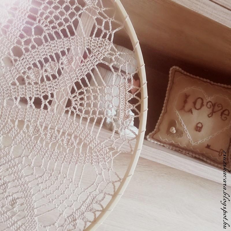 crochet doily, suncatcher, dreamcatcher, álomfogó (2)