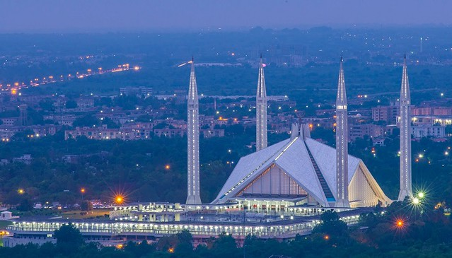 1380 The Relationship between Faisal Mosque of Pakistan and Saudi Arabia