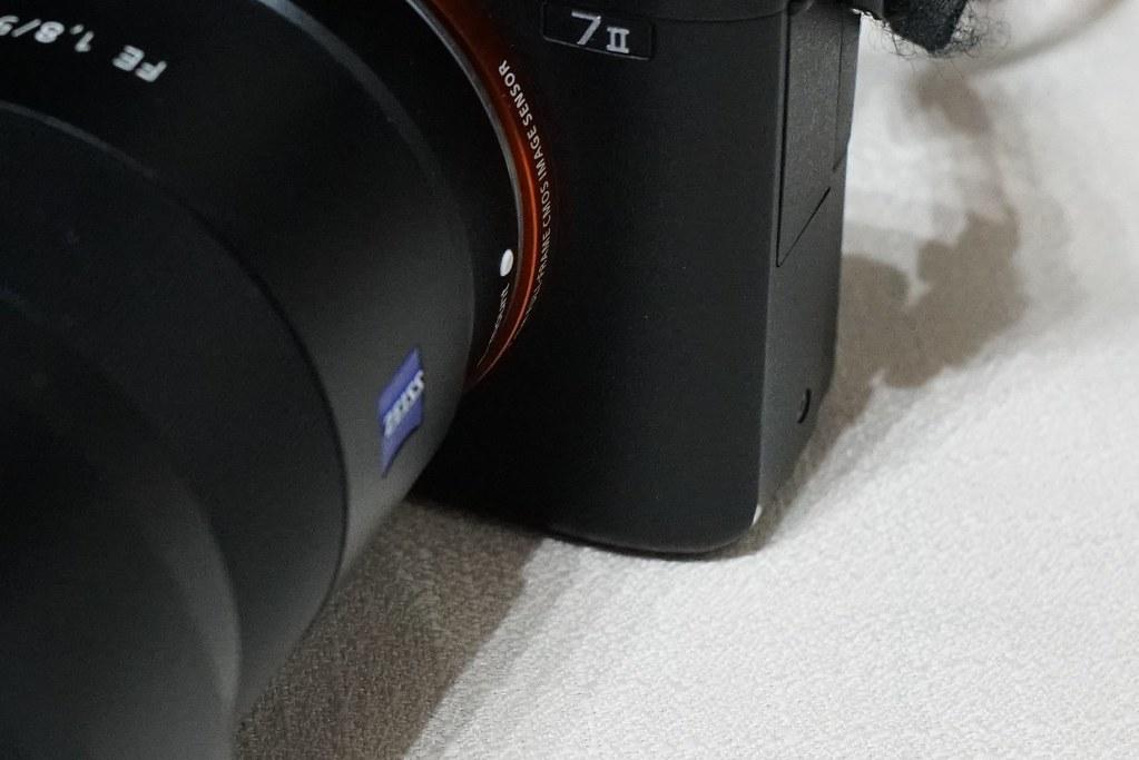 カメラの傷