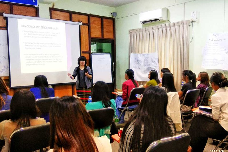 Three-day Women Can Do It (WCDI) training