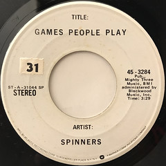 SPINNERS:GAMES PEOPLE PLAY(LABEL SIDE-A)