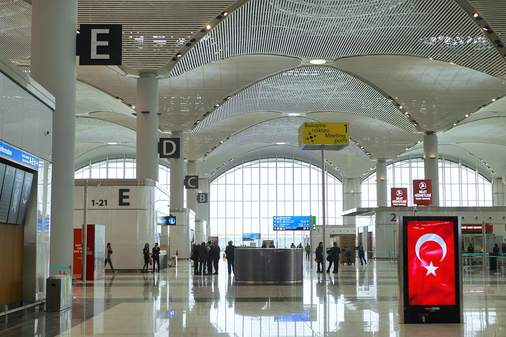 伊斯坦堡新机场-出境大厅