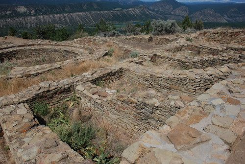 Great House Pueblo. From History Comes Alive at Chimney Rock National Monument
