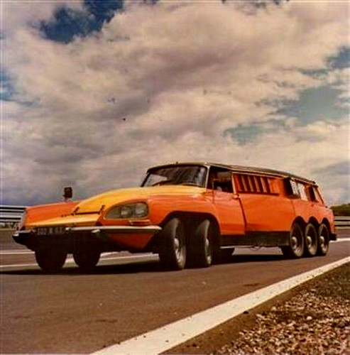 Citroen DS Michelin PLR 2