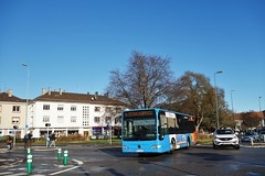 Mercedes Benz Citaro K n°123  -  Haguenau, RITMO - Photo of Hochstett