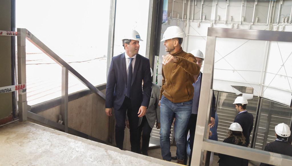 """2019-02-26 PRENSA: Visita y Recorrida por las Obras de Construcción del Aeropuerto """"Domingo Faustino Sarmiento"""""""