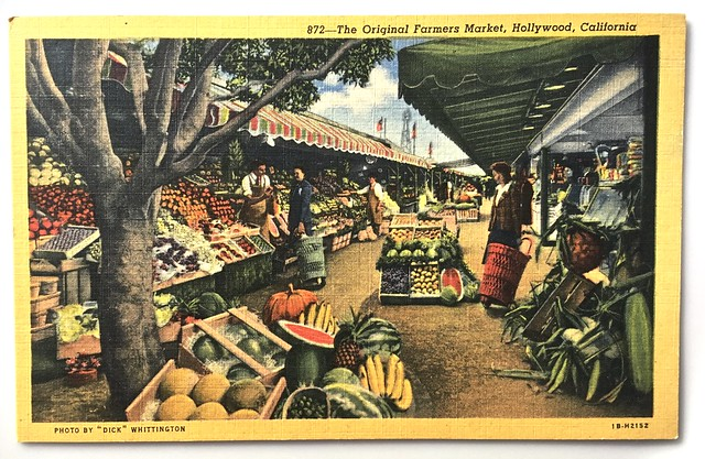 Fairfax Farmers Market back in the day