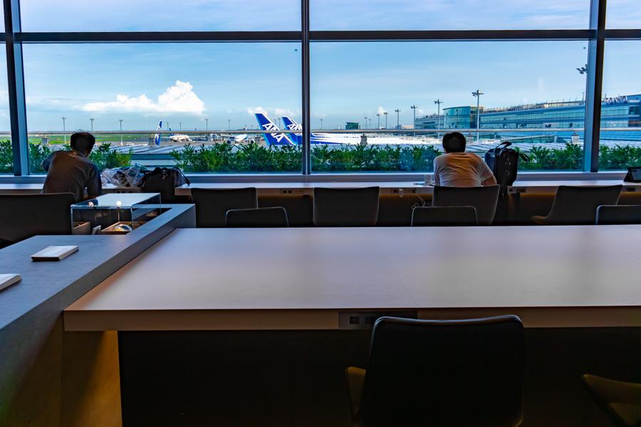 羽田空港クレジットカード会社ラウンジ