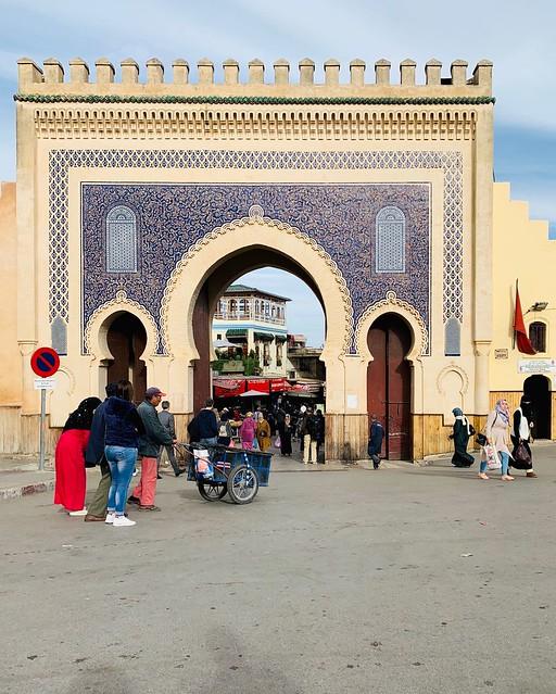 Medina di Fès: una delle entrate