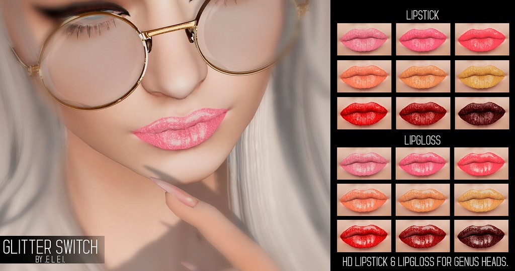 .E l e i. – Glitter Switch (Lipstick & Lipgloss) @ Spring Flair 2019