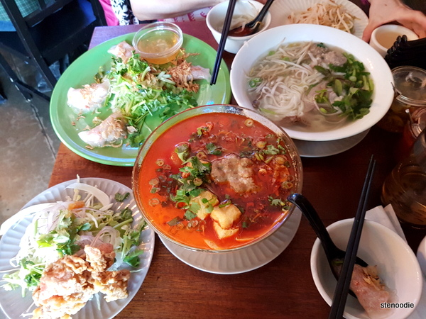Nam Vietnamese food