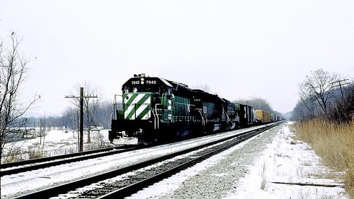 BN 7042, 7829 (EMD SD40-2's)