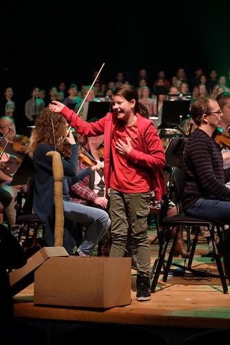 Elever från Norrköpings Musikklasser