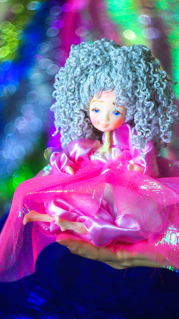 OOAK art doll - OOAK fairy dolls by Chydiki. Fantasy colorful handmade dolls. Wholesale dolls and toys for kids