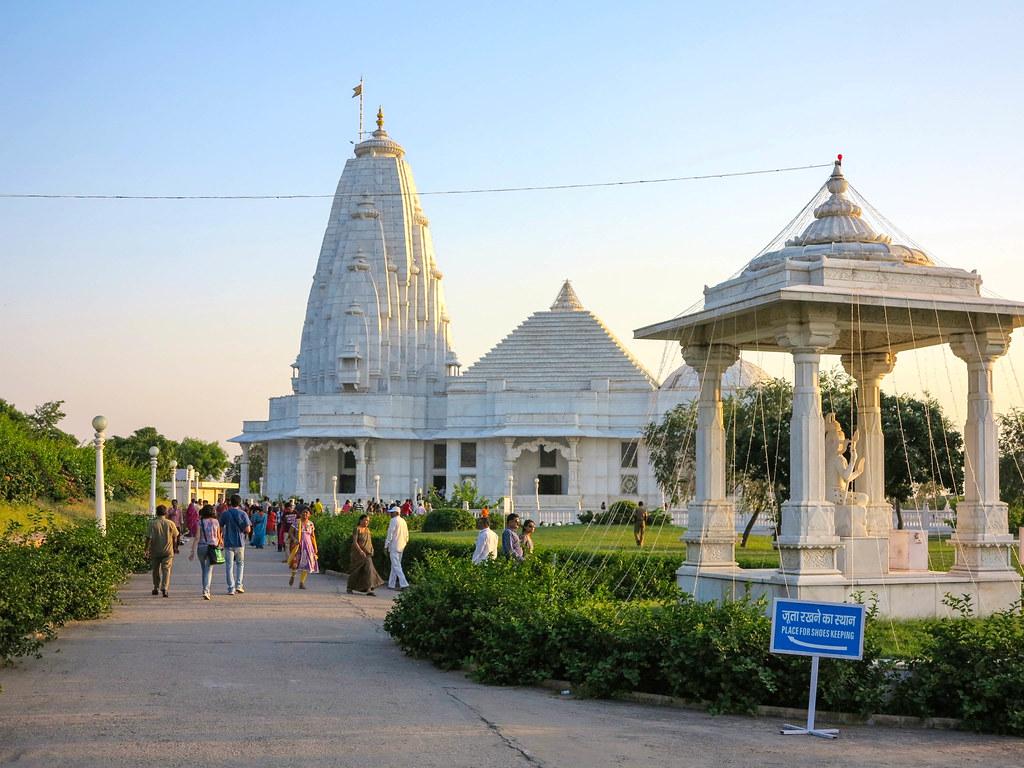 Templo blanco de Jaipur