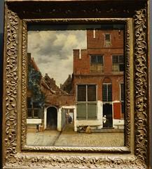 Vermeer, View of Houses in Delft, ca. 16670; Rijksmuseum, Amsterdam (2)