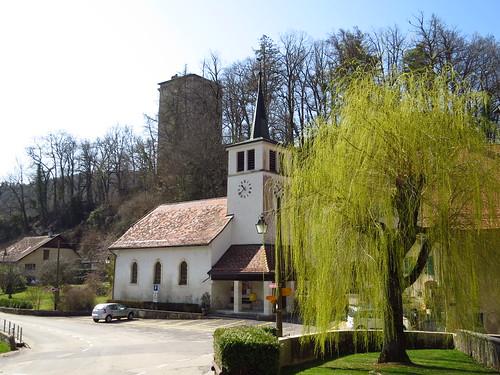 Petit village de Les Clées