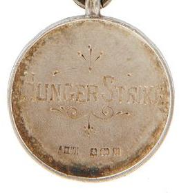 Selina Martin suffragette Hunger Strike medal