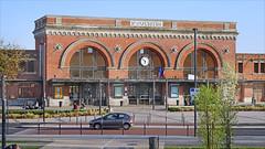 La gare de Saint-Quentin (France)
