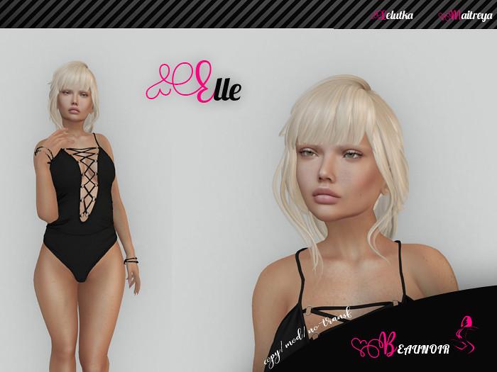 Beaunoir* Maitreya-Lelutka Chloe- Elle shape - TeleportHub.com Live!