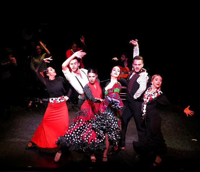 Navidad 2018. Galas Fin Trimestre 1 del Curso Flamenco 2018/2019
