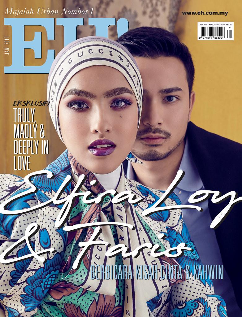 Elfira Loy Muka Depan Majalah EH!