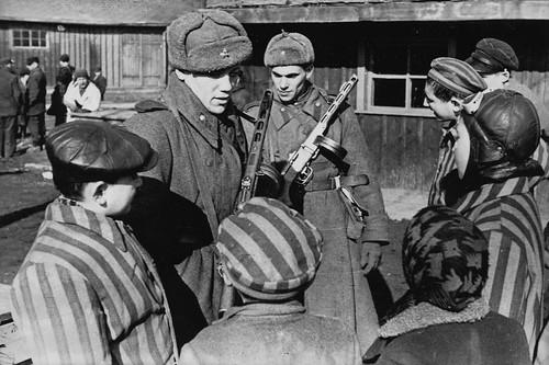 1945. Liberazione di Auschwitz