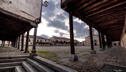 Plaza de la Villa en Arévalo.