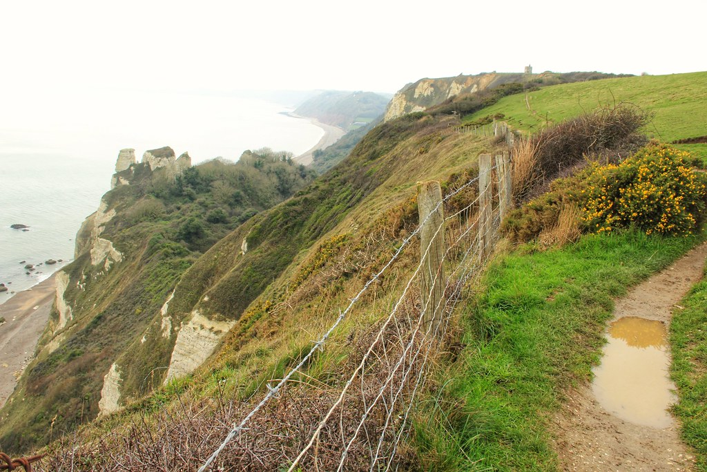 Branscombe to Beer coastal path