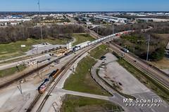 BNSF 637 | GE C44-9W | BNSF Tennessee Yard