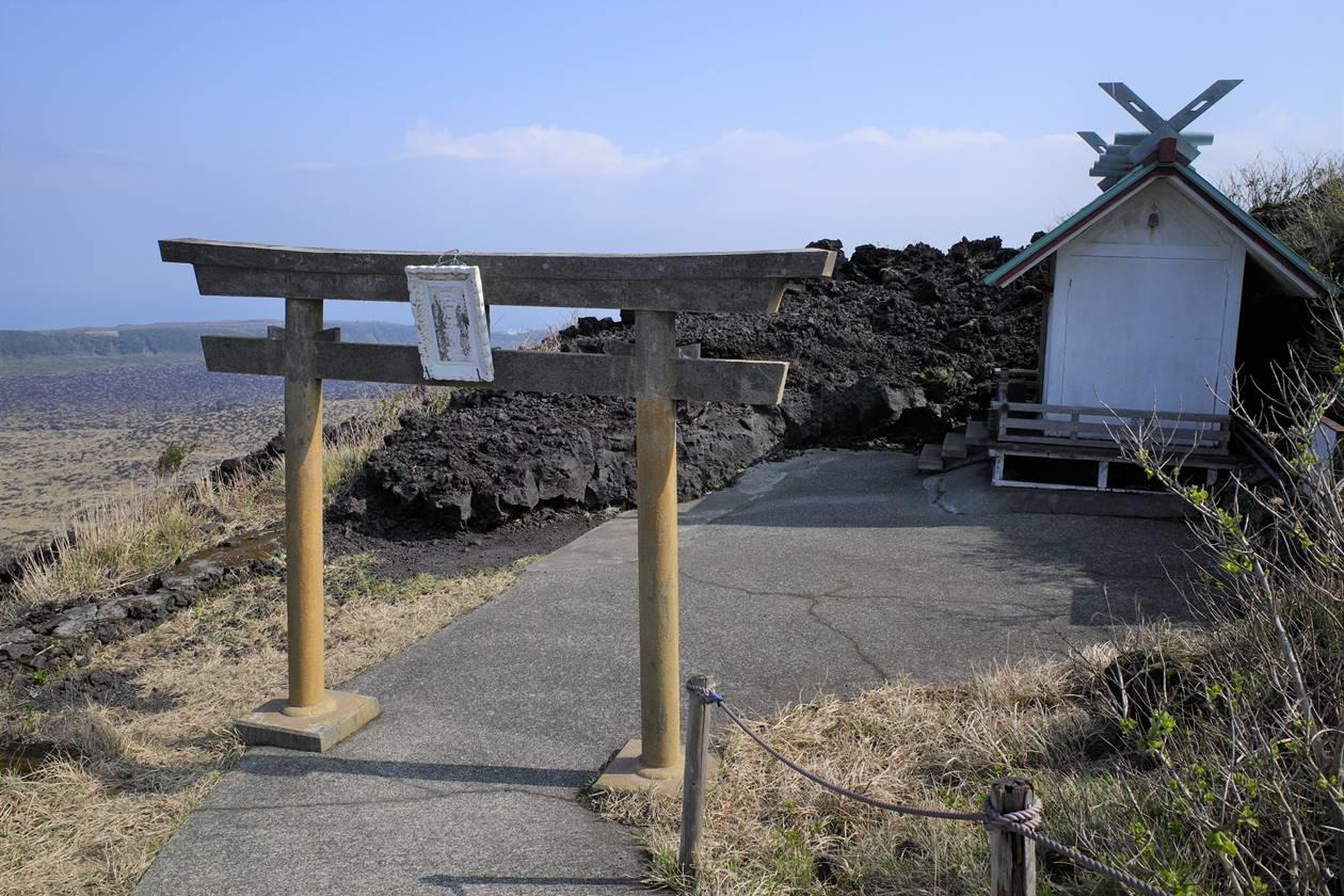 伊豆大島・三原山神社