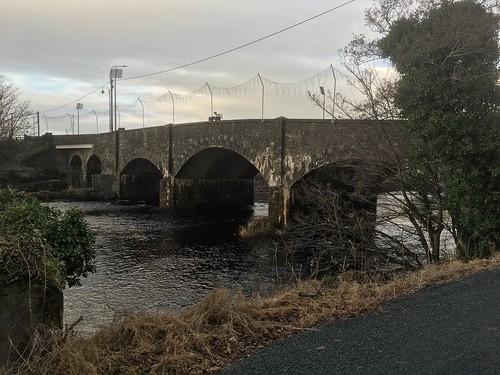 Road Bridge Over River Finn