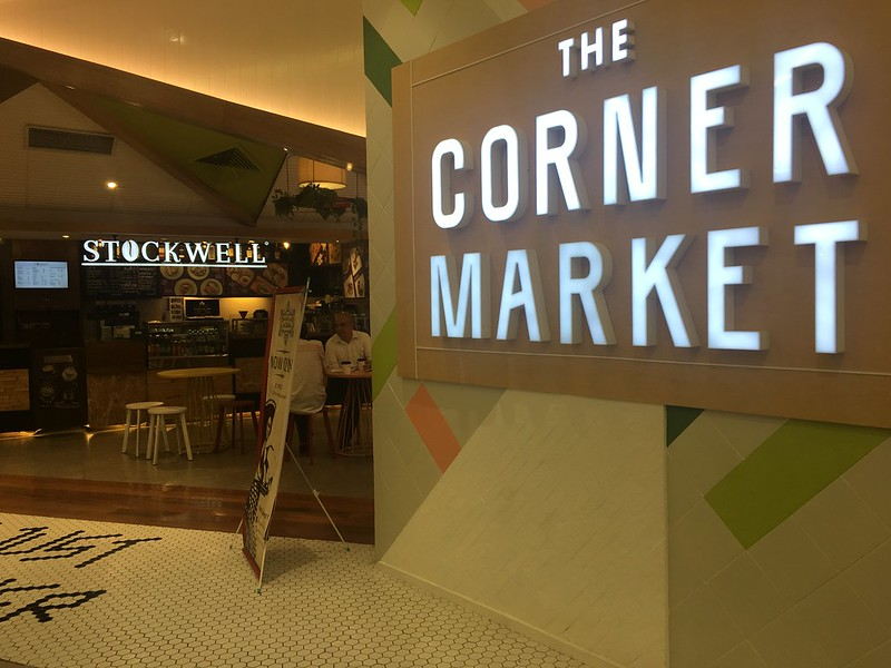 The Corner Market Food Hall, Podium