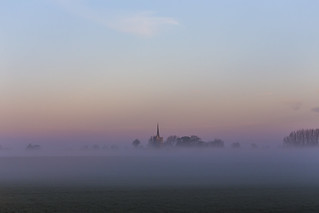 Misty Little Wakering Church