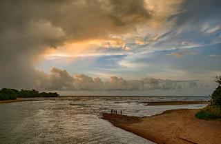 February Sunset Stormscape # 3 - Casuarina Coastal Reserve (Rapid Creek Mouth), Darwin, NT, Australia