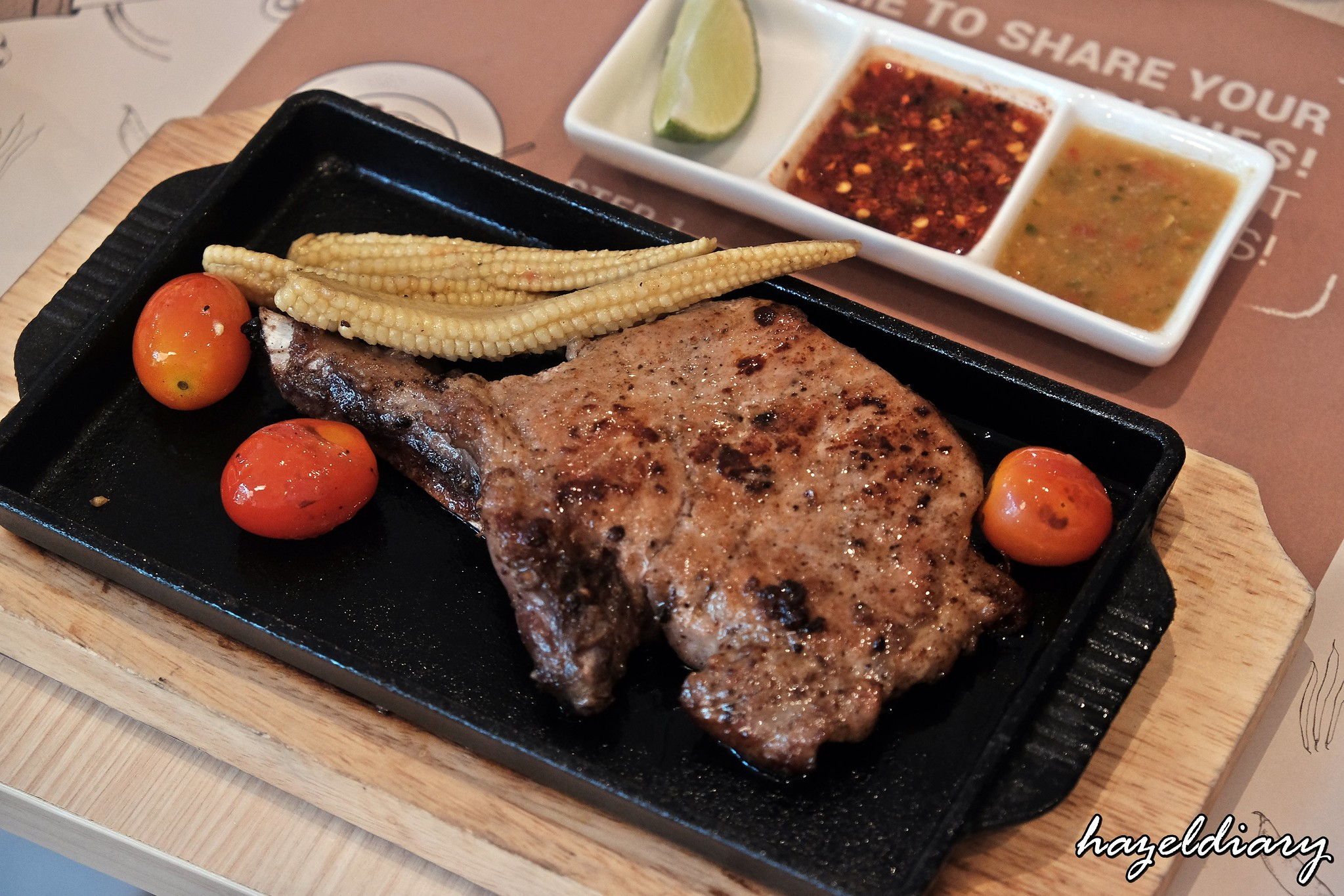 Baan Ying-Pan-Iberico Pork Chop