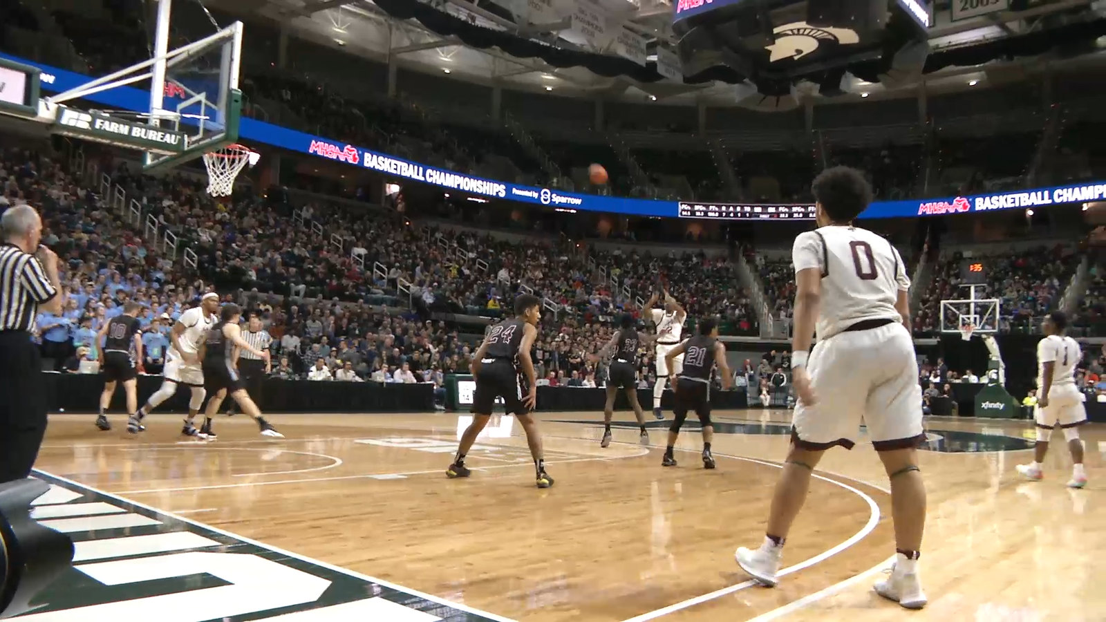 Okemos Ends the Season in Semifinals at the Breslin