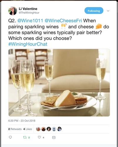 Wining Hour Chat with Wine101Hamden Question 2