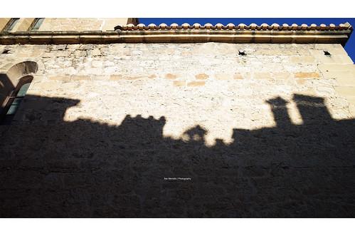 Shadows in Rubielos de Mora