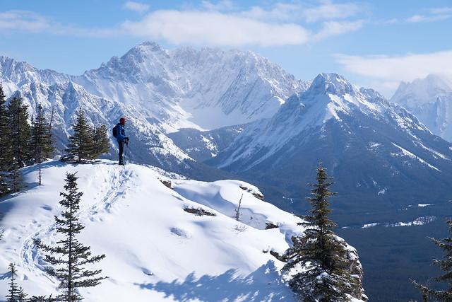 Snowshoeing - Gypsum Ridge - Feb 2019-12